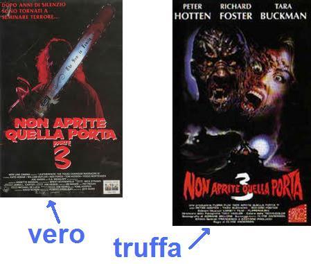 Titoli italioti 14 puntata sequel fasulli iii - Non aprite quella porta serie ...