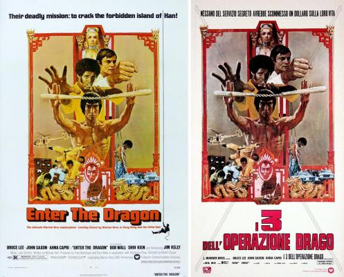 enter the dragon / i tre dell'operazione drago