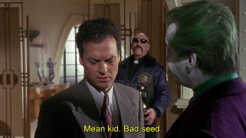 bambino cattivo, malerba, fa del male