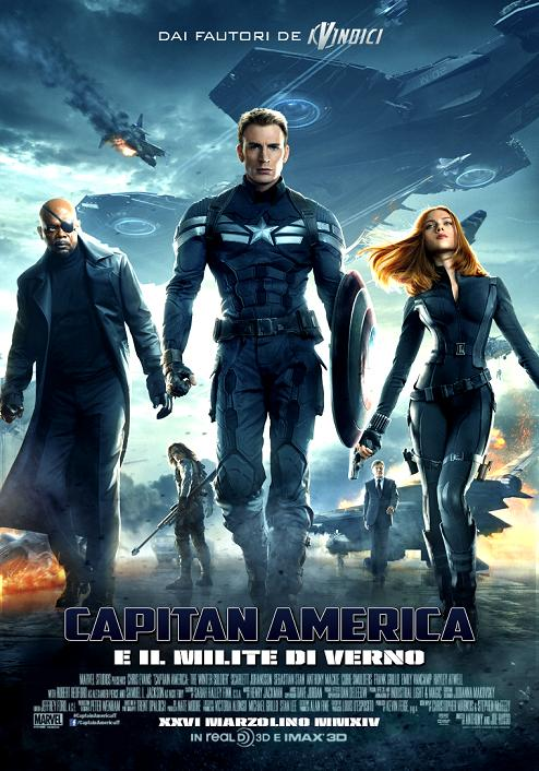 Captain America 2 - The Winter Soldier