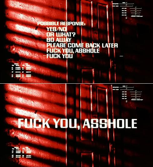 fuck you asshole 2