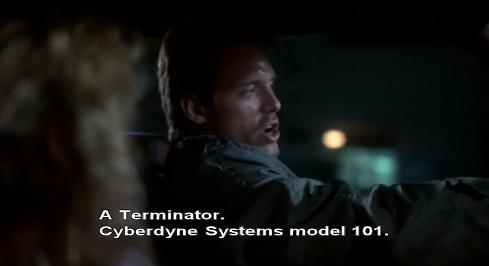 """""""un Terminator. Modello Sistemi Cibernetici uno-zero-uno"""""""