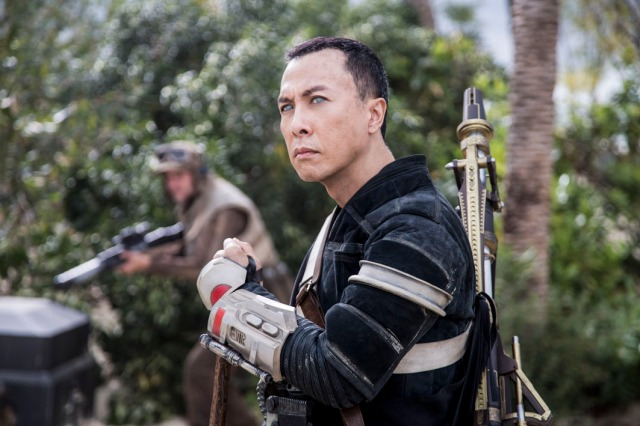 Donnie Yen in Rogue One: A Star Wars Story Photo by Jonathan Olley (© 2016 Lucasfilm LFL)