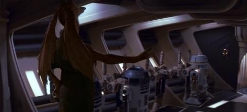 "Jar Jar Binks che esclama ""ciao pischellos!"""