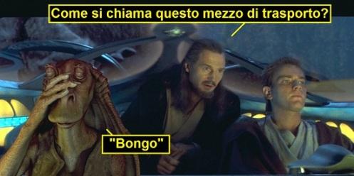 Star Wars Episodio 1 La minaccia fantasma - Obi Wan alla guida del bongo