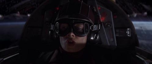 """Pilota che dice """"roger, comandante"""" in Star Wars episodio 1 la minaccia fantasma"""