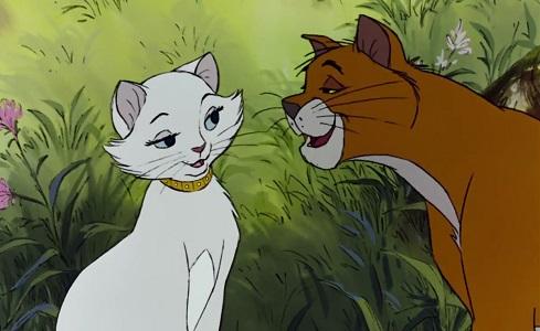 Romeo e Duchessa, gatti protagonisti di Gli Aristogatti