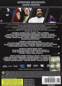 retro di un DVD della Warner