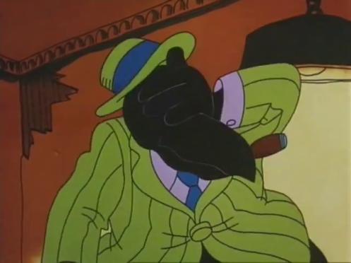 Fritz il gatto corvo che fa un facepalm